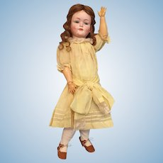 "Jubilant 21"" Kley and Hahn German Bisque 549 Character Child"