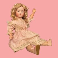 Dainty 19 Inch Kley and Hahn 526 German Bisque Character Child