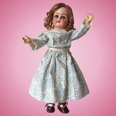 """Pristine 13"""" Kammer & Reinhardt German Bisque Cabinet Size Child Doll with Original Wig and Eyelashes"""