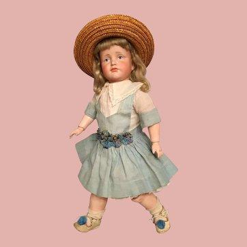 """Choice 15"""" Kammer and Reinhardt 114 Gretchen German Bisque Character Child"""