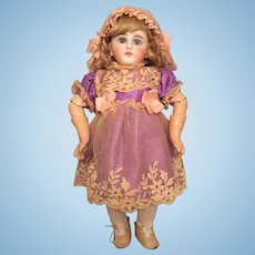 "Petite 11"" Sonneberg Desirable 136 Model German Bisque Doll for the French Trade"