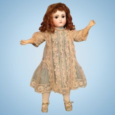 "Gorgeous 17"" Bru-Look Sonneberg German Bisque Doll Marked 121"