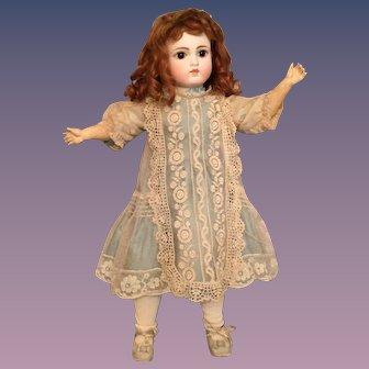 "Gorgeous 17"" Bru-Look Sonneberg German Bisque Doll Marked 121"