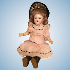 "Sweet 17"" Simon and Halbig 1250 Shoulderhead German Bisque Character Child"