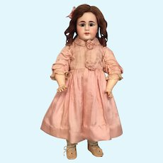 """Captivating 17"""" Simon and Halbig Closed Mouth 939 German Bisque Character Child"""