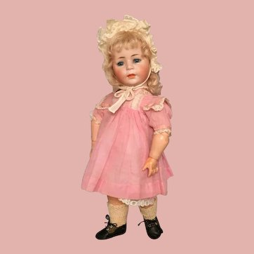 Exquisite 13 1/2 Inch German Bisque 1488 Character Toddler by Simon and Halbig