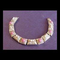 Vintage Jewelry  Art   Victorian Revival Bracelet