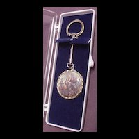 Vintage Commemorative Bi Centennial 1776  / 1976 Key Ring MIB
