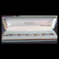 Vintage Sterling Silver VanDell Bracelet in Original Box