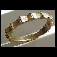 Trifari Scallops Bracelet