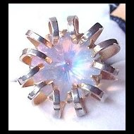 Vintage Opalescent Sarah Coventry Ring