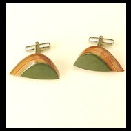 Mutli Color Laminated Cufflinks