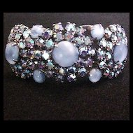 Juliana Blue Rhinestone Bracelet