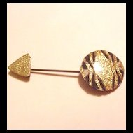 Laminated Celluloid Hat Pin
