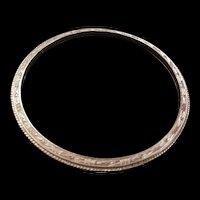 Trifari Bangle Bracelet