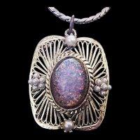 Dragons Breath Rhinestone Necklace