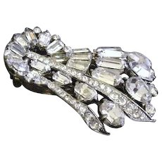 Art Deco Staret Dress Clip