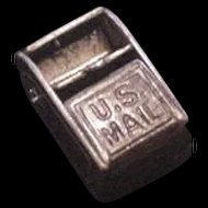 Old Mexico Sterling Silver Mechanical Charm