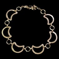 Mid Century Sterling Silver Necklace