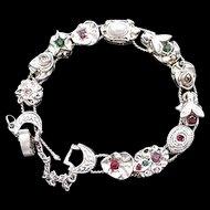 Victorian Revival Slide Bracelet