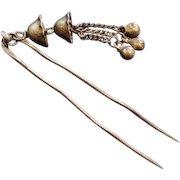 Vintage Brass Hair Stick Pin