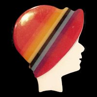 Laminated Plastic Hat and Profile Pin