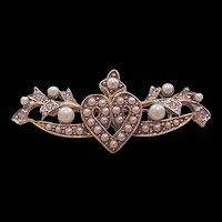 Carolee Rhinestone Pin