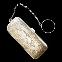 Edwardian Coin Compact Purse