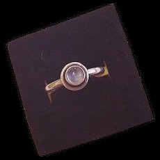 Sterling Silver Moonstone Vintage Ring