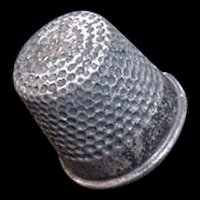 Sterling Silver Vintage Thimble