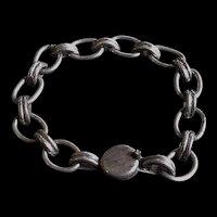 Old Silver Mexico Link Bracelet