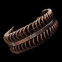 Renior Copper Vintage Cuff Bracelet