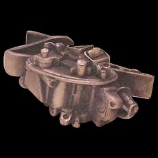 Engine Tie Clasp