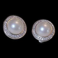Panetta Rhinestone Earrings