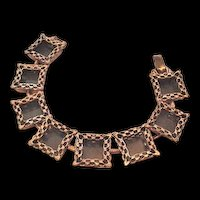 Copper Renior Shadow Box Bracelet