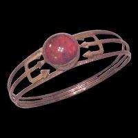 Baltic Amber Silver Bracelet Poland