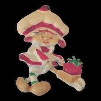 Strawberry Shortcake Doll Vintage Pin