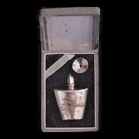 Perfume Bottle Sterling Silver Original Fitted Box