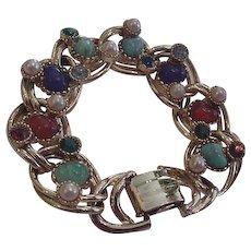 Multi Colors Rhinestone Bracelet