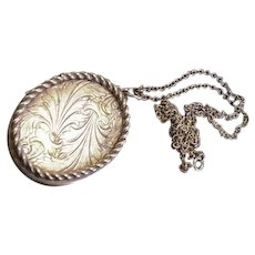 Victorian Revival Large Locket