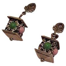 Hanging Lantern Earrings