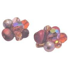 Hattie Carnegie Crystals Earrings