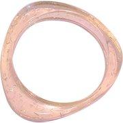 Confetti Lucite Bangle Bracelet