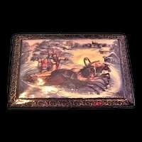 Russian Lacquerware Box Very Nice