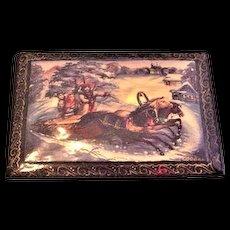 Russian Lacquerware Box Very Nice