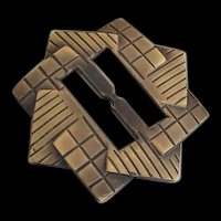Art Deco Belt Sash  Buckle