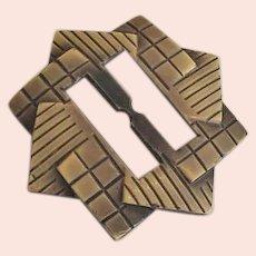 Art Deco Belt Sash  Buckle