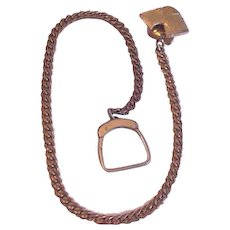 Thick and Heavy Terrier Watch Chain