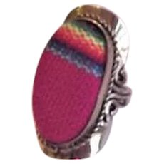 Native American Woven Ring