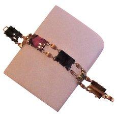 Krementz Vintage Genuine Stones Bracelet